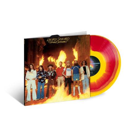 Lynyrd Skynyrd: Street Survivors: Exclusive Red & Yellow Burst Coloured Vinyl