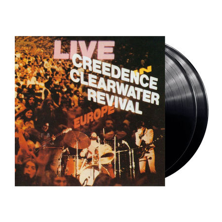 Creedence Clearwater Revival : Live In Europe (2LP)
