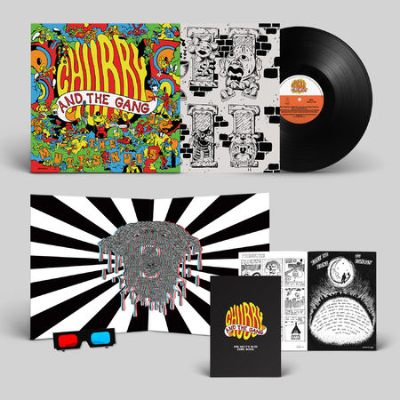Chubby and the Gang: The Mutt's Nuts: Deluxe Edition Vinyl LP [Numbered] + Signed Print