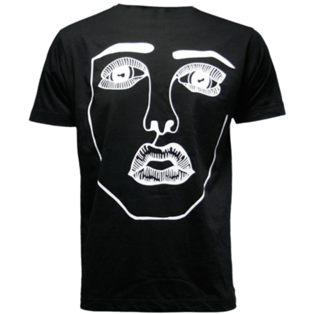 Disclosure: The Face: Black + White Tee