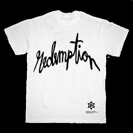 Bob Marley: Redemption Silhouette White T-Shirt