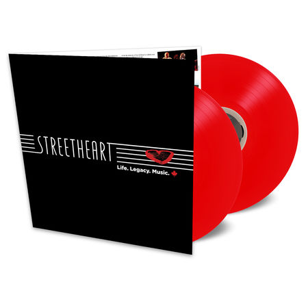 Streetheart: Life. Legacy. Music (2LP Translucent Red)