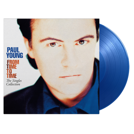 Paul Young: From Time To Time - Singles Collection: Limited Edition Translucent Blue Vinyl