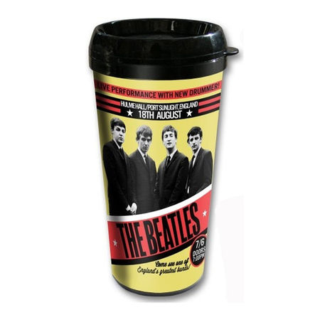 The Beatles: The Beatles 1962 'Live Performance With New Drummer' Travel Mug