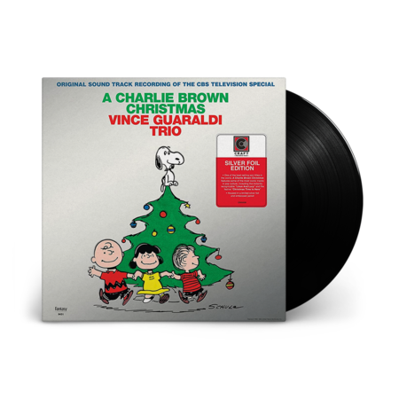 Vince Guaraldi Trio: A Charlie Brown Christmas: Collectible 2021 Silver Foil Edition LP