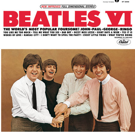 The Beatles: Beatles VI (USA Version)