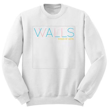 Kings Of Leon: White Walls Art LS Fleece