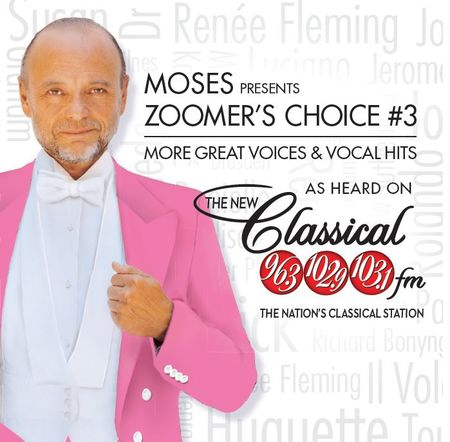 Various Artists: Moses Presents Zoomer's Choice #3: More Great Voices and Vocal Hits (CD)