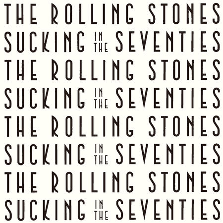 The Rolling Stones: Sucking In The Seventies (SHM-CD)