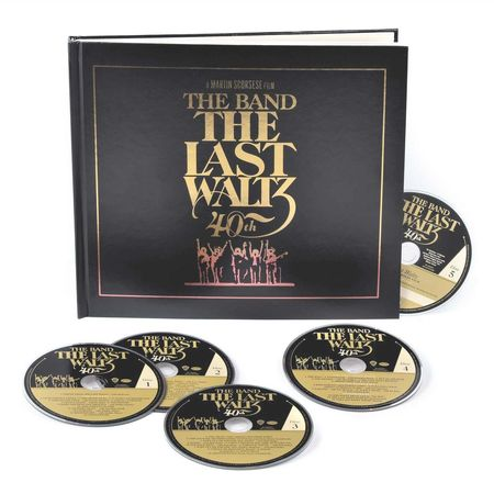 The Band: The Last Waltz - 40th Anniversary (4CD+1BR)