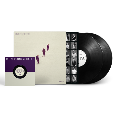 Mumford & Sons : Delta Double LP + exclusive bonus 7