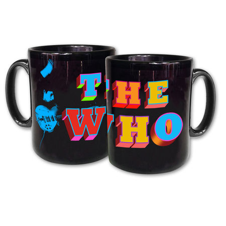 The Who: The Who Black Mug