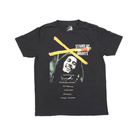 Bob Marley: Stand Up Crossed Tee