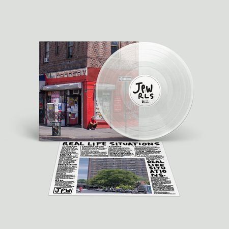 Juan Wauters: Real Life Situations: Recordstore Exclusive Clear Vinyl LP