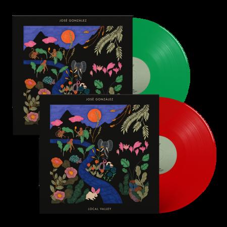 Jose Gonzalez: Local Valley: Exclusive Vinyl LP Bundle + Signed Art Print