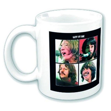 The Beatles: Let It Be Boxed Mug
