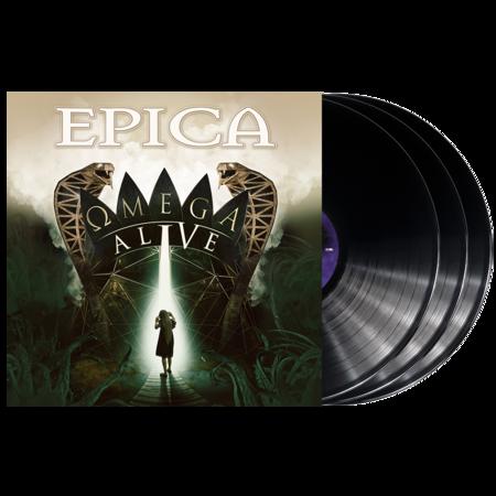 Epica: Omega Alive: Black Vinyl 3LP + Signed Photocard