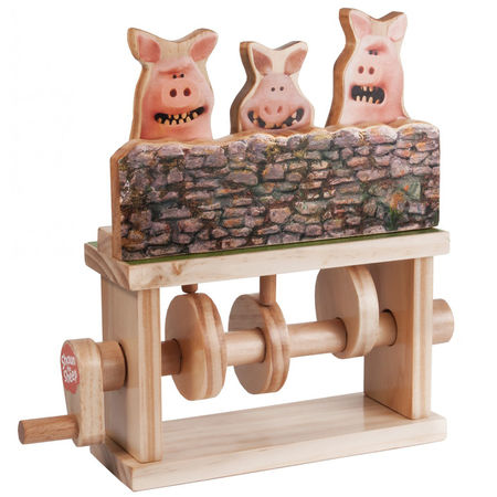 Shaun the Sheep: Three Pigs Timber Kits