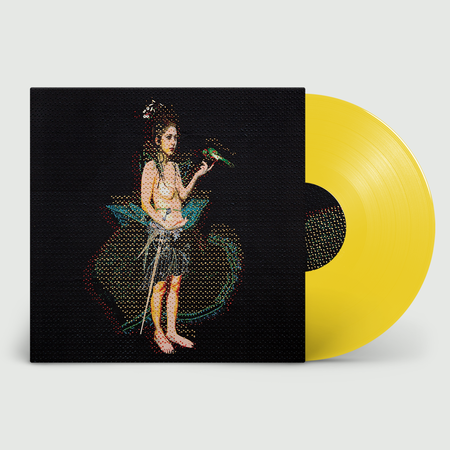 Mentrix: My Enemy, My Love: Limited Sun Yellow Vinyl + Signed and Numbered Print