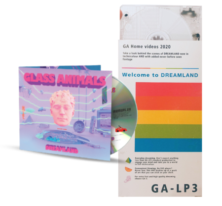 Glass Animals: HANDMADE DREAMLAND VHS & CD
