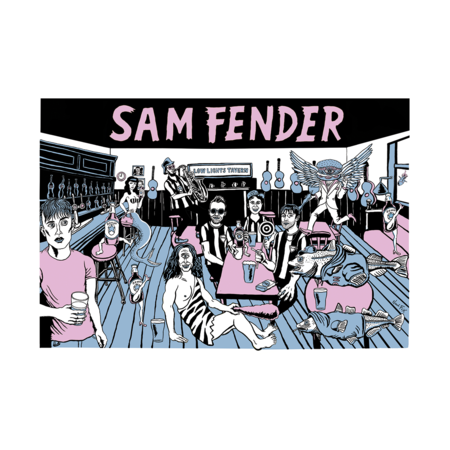 Sam Fender: Lowlights Print - (Limited Edition hand numbered)