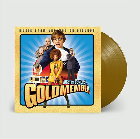 Original Soundtrack: Austin Powers Goldmember: Limited Edition Gold Vinyl