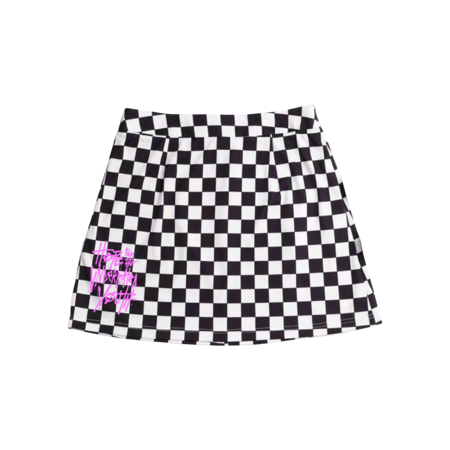 Yungblud: Checkered Skirt