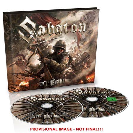 Sabaton: The Last Stand: Ltd Edition CD/DVD Digibook