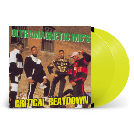 Ultramagnetic Mc's: Critical Beatdown - Expanded Edition: Limited Yellow Vinyl