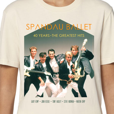 Spandau Ballet: 40 Years Greatest Hits Unisex T-Shirt