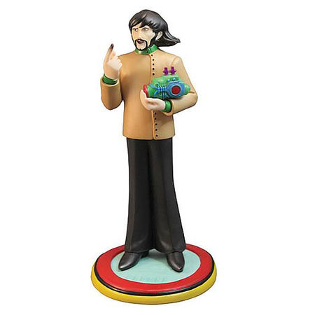 The Beatles: Yellow Submarine 'George Harrison' Rock Icon Statue