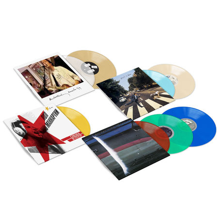 Paul McCartney: Live Albums Coloured Vinyl Bundle