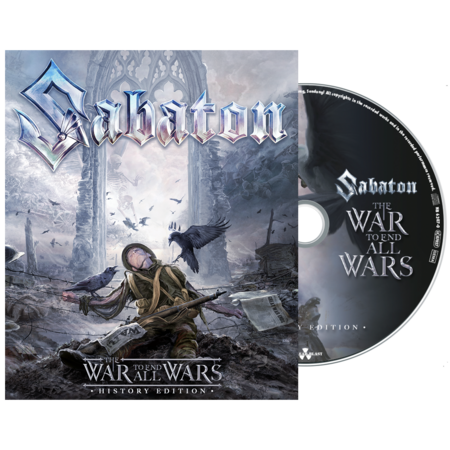 Sabaton: The War To End All Wars: Digibook CD