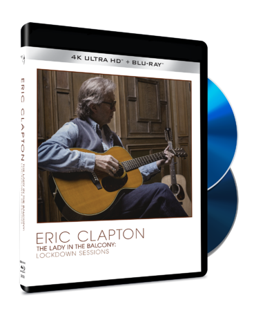 Eric Clapton: Lady In The Balcony: Lockdown Sessions: 4K UHD + Blu-Ray