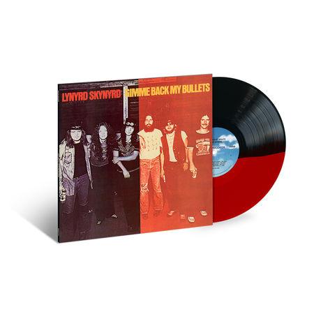 Lynyrd Skynyrd: Gimme Back My Bullets: Exclusive Red & Black Coloured Split Vinyl