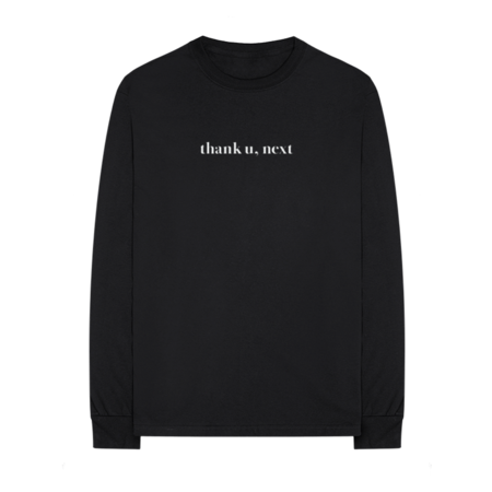 Ariana Grande: THANK U, NEXT LS T-SHIRT