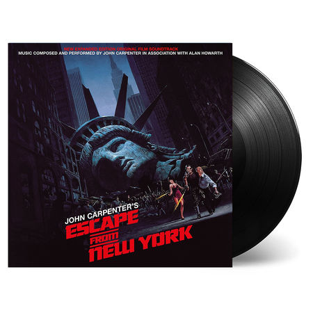 John Carpenter: Escape From New York: Limited Edition Vinyl Reissue
