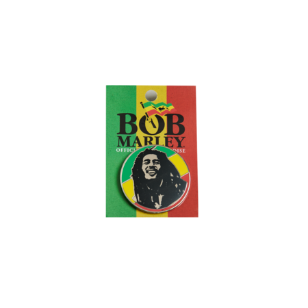 Bob Marley: Rasta Circle Enamel Pin