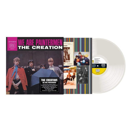 The Creation: We Are Paintermen: Limited Edition 140g Clear Vinyl