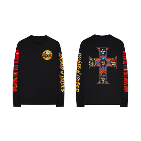 Guns N' Roses: Locked And Loaded Longsleeve