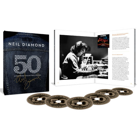 Neil Diamond: 50th Anniversary Collector's Edition (5CD + Blu-Ray)