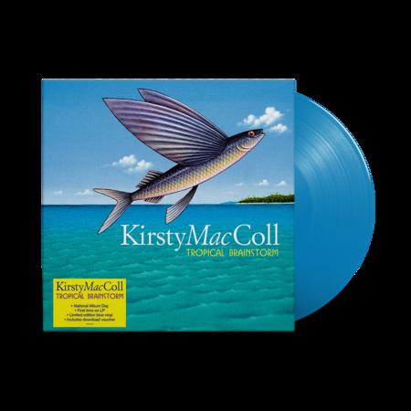 Kirsty MacColl: Tropical Brainstorm: Limited Edition Blue Vinyl