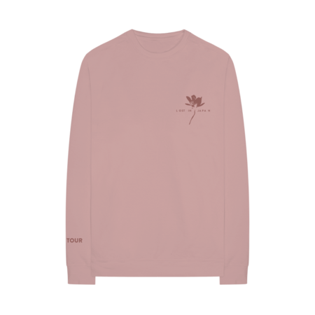 Shawn Mendes: LOST IN JAPAN THE TOUR CREWNECK - L