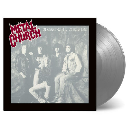 Metal Church: Blessing In Disguise: Silver Vinyl LP