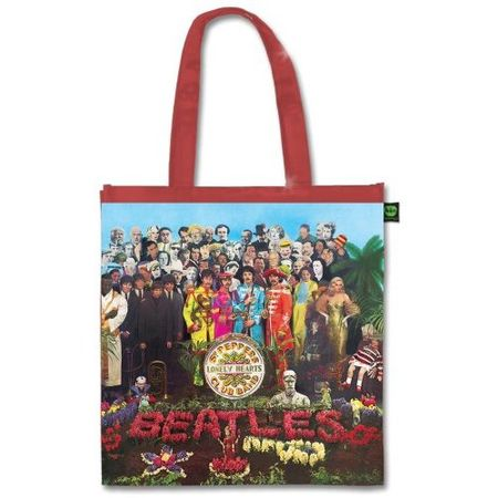 The Beatles: Sgt Pepper (Shiny Version) Tote Bag