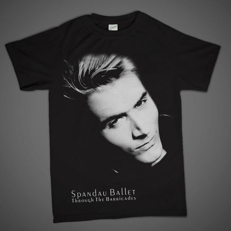 Spandau Ballet: Iconic Photo 'Steve' T-Shirt