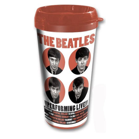 The Beatles: The Beatles 1962 '!Performing Live!' Travel Mug