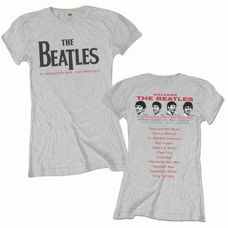 The Beatles: Candlestick Park Womens T-Shirt