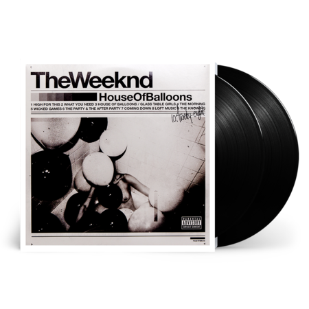 The Weeknd: House Of Balloons LP