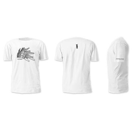 Jamiroquai: White Automaton Sketch Tshirt